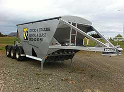 Bottom Dumper semi trailer
